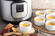 Instant Pot Creme Brûlée - Learn how to make creme brulee and 9 other surprising things right in your Instant Pot. Hip Pressure Cooking, Instant Pot Pressure Cooker, Pressure Cooker Recipes, Slow Cooker, Pressure Pot, Crockpot Recipes, Cooking Recipes, Cooking Food, Healthy Cooking