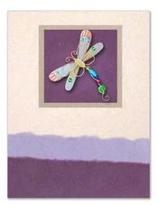 Handmade Greeting Card with Dragonfly Pin African Hats, Felted Soap, Fair Trade Clothing, Zulu, Greeting Cards Handmade, Tango, Basket, Zulu Language