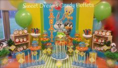 Baby Looney Tunes Baby Shower Party Ideas | Photo 6 of 8 | Catch My Party