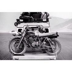 Land Rover + Bike