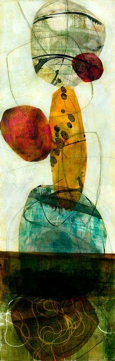 Vertical Shapes #1 – Jane Davies Art Gallery