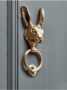 Tree Wood Craved DoorTree Wood Craved DoorNEW Hare door knocker made of solid brass - garden accessories & deco .NEW Hare door knocker made of solid brass - garden accessories & deco Door Knockers Unique, Brass Door Knocker, Door Knobs And Knockers, Antique Door Knockers, Home Decoracion, Balkon Design, The Doors, Door Furniture, Selling Furniture