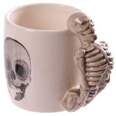 Coffee Mug Novelty Skeleton Design Shaped Skull by getgiftideas
