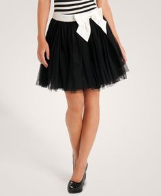 fancy. I saw this type of skirt all over Beijing this year! SOOo cute