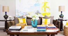 The 16 Most Colorful Celebrity Homes via Brit + Co