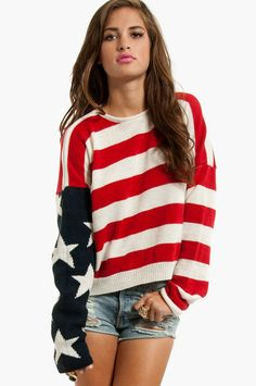the american flag sweater of all american flag sweaters