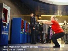 Bildschirmarbeiter - Picdump 15.11.2013 Squats for tickets in moscow