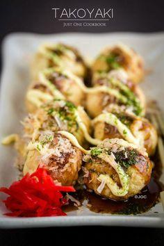 Takoyaki Recipe たこ焼き | Easy Japanese Recipes at JustOneCookbook.com