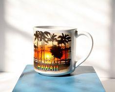 HAWAII  Vintage Mug  Souvenir Coffee Cup by PomegranateVintage, $10.99
