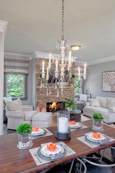 Everyone needs an elegant keeping room #tratonhomes