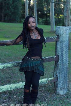 Fairy Lace Mini Skirt by manakahandmade on Etsy