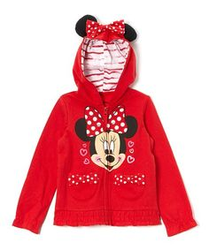 Disney Minnie Mouse Red Eared Zip-Up Hoodie - Toddler Girl https://www.amazon.com/FREEZE-Little-Minnie-Toddler-Hoodie/dp/B00IYP7H4A/?tag=unrealbargain-20