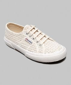 d77cdf44bd Take a look at this Off-White 2750 Crochetw Sneaker - Women by Superga on