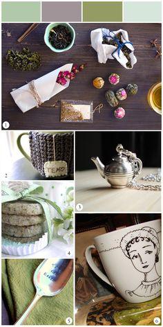 Love the Jane Austen teacup!