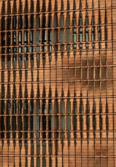 of Cloaked in Bricks / Admun Design & Construction Studio - 20 Cloaked in Bricks / Admun Design & Construction Studio © Parham TaghioffCloaked in Bricks / Admun Design & Construction Studio © Parham Taghioff Architecture Design, Contemporary Architecture, Parametric Architecture, Brick Design, Facade Design, Building Facade, Building Design, Facade Pattern, Architectural Pattern