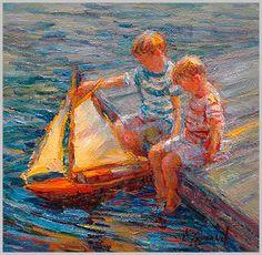 Obra de la pintora estadounidense Diane Leonard