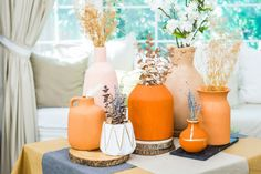 Home And Family Crafts, Home And Family Tv, Liquid Gold Leaf, Crafts To Make, Diy Crafts, Hallmark Homes, Cricut Craft Room, Painted Vases, Fall Scents