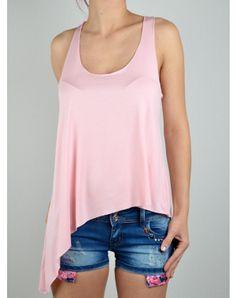 Γυναικεία Ρουχα Basic Tank Top, Pink Ladies, Tank Tops, Fashion, Moda, Halter Tops, Fashion Styles, Fashion Illustrations