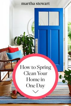 Our eco-friendly tips make spring cleaning without harming the environment a breeze. And should you be looking to update your space, our tips for shopping for green appliances, floors, and paint will help you make purchases you can feel good about. Spring Cleaning Organization, Spring Cleaning Checklist, Cleaning Day, Organizing Your Home, Cleaning Hacks, Cleaning Routines, Shop Well For Less, House For Sell, Clean Mama