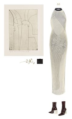 """""""Lines"""" by mywayoflife ❤ liked on Polyvore featuring FAUSTO PUGLISI, Maison Margiela, Amy Winehouse and Zara"""