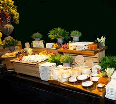 A cheese stall from an event at Old Billingsgate last week.