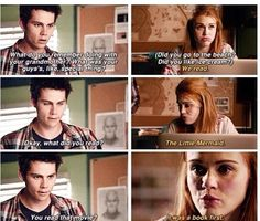 "Teen Wolf Season 04 Episode 09 ""Perishable"" Lydia and Stiles. Favorite scene."