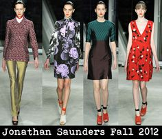 Jonathan Saunders Subdued Prints