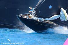 America's Cup Superyacht Regatta - Day 2 action-shots by Ingrid Abery Catamaran, Sailing Yachts, J Class Yacht, Sail World, Volvo Ocean Race, Classic Sailing, America's Cup, Sail Away, Canisters