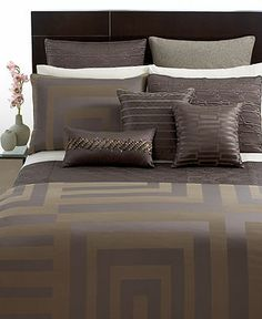 Hotel Collection Bedding, Columns Collection - Bedding Collections - Bed & Bath - Macy's Bridal and Wedding Registry