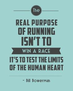 It's to test the limits of the human heart