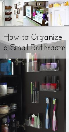 How to Organize a Small Bathroom How to Organize a Small Bathroom. organization organizing hacks stay organized home home decor cleaning cleaning tips diy organization The post How to Organize a Small Bathroom appeared first on Stauraum ideen. Small Bathroom Organization, Bathroom Storage, Bathroom Vanities, Bathroom Ideas, Bathroom Cleaning, Bathroom Hacks, Small Apartment Organization, Bathroom Small, How To Organize A Bathroom