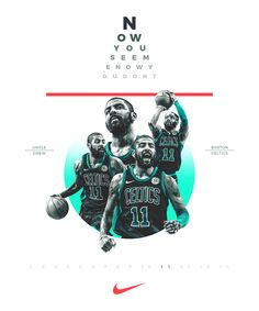 Kyrie Irving Logo, Kyrie Irving Celtics, I Love Basketball, Basketball Posters, Celtics Gear, Celtics Life, Nba Kings, Banners, Nba Quotes