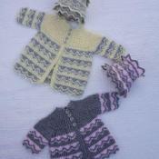 Zigzag Matinee Crochet Pattern #218 - via @Craftsy