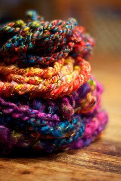 WoolWench Handspun Yarn