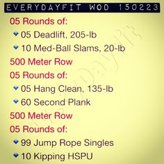 #EveryDayFit #WOD 150223 A little more energy today & I didn't #eatallthefood this weekend for once! #crossfit