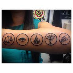 Divergent Tattoo. Nittis Tattoo San Diego, CA