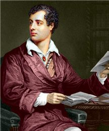 """Famous Authors' Last Words Lord Byron : """"Now I shall go to sleep."""" Lord Byron died in Greece of a fever, while fighting the Ottomans. Lord Byron, Mary Shelley, Famous Poems, Famous Last Words, British Poets, People Reading, English Poets, She Walks In Beauty, Writers And Poets"""