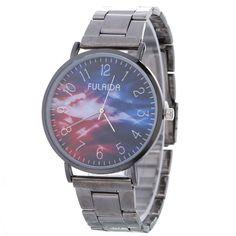 >> Click to Buy << Women Fashion & Casual Watch Retro Alloy Case Steel Band Bracelet Star Pattern Quartz Watches Womens Watch Relogios Feminino@WJ #Affiliate