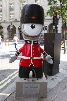 Queen's Guard Wenlock, Green Park, London