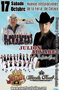 Julion Alvarez, El Coyote y su Banda Tierra Santa, Banda San Juan, Banda Real