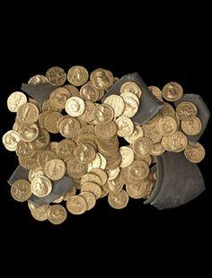 British Museum | Didcot Hoard, Roman AD 100 - 200.
