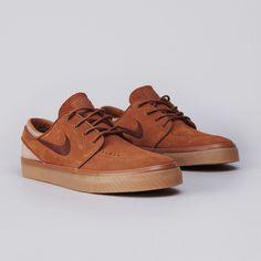 Nike SB Stefan Janoski Light British Tan / Dark Field Brown