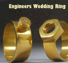 Engineers Wedding Ring