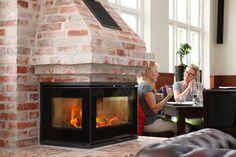 Rais 500 making a cozy environment in Kappelborgen, Skagen #Rais #Cozy #Rais500 #stoves