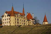Avenches Castle is a castle in the municipality of Avenches of the Canton of Vaud in Switzerland