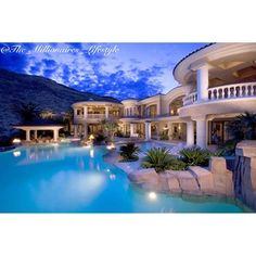 Luxurious Home & Pool ~Grand Mansions, Castles, Dream Homes & Luxury Homes