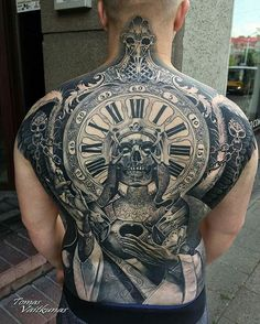 Backpiece by artist @tomasvaitkunas #supportart #support #tattoo #artists #worldwide .