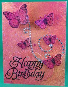 Girl Birthday card by Forgettable27(Sandra), via Flickr