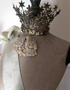 Crown on mannequin