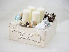 Inkadar / Adventná - vianočná vintage dekorácia